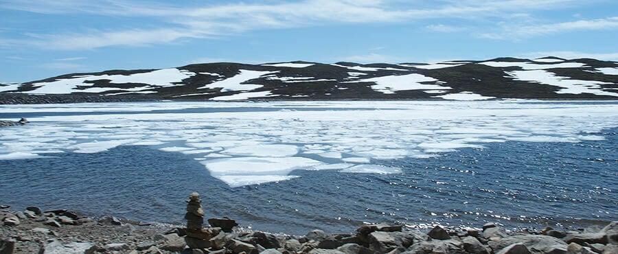 Is i juli i Norge