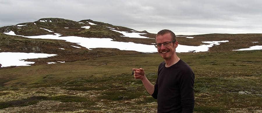 En glad Rasmus i Norge