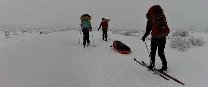 På ski i Gausdal