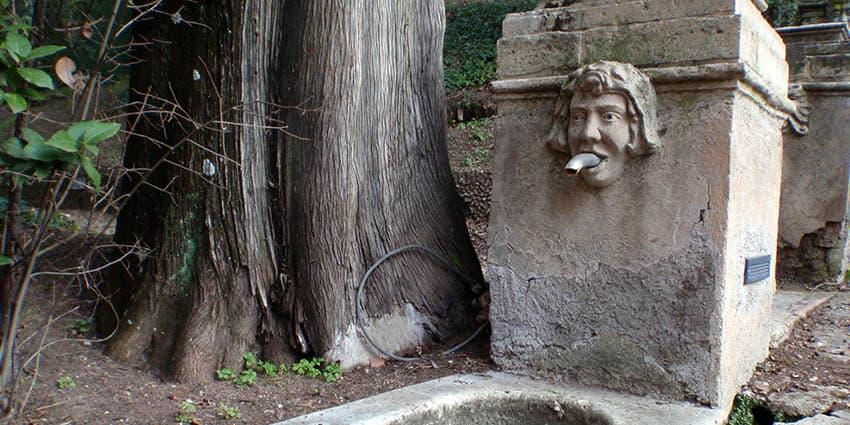Fontæne i Villa D'este