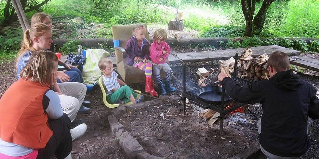 udendørs aktiviteter for børn og voksne